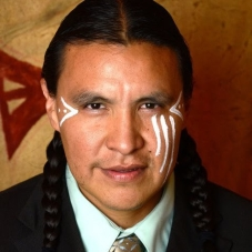 Chase Iron Eyes (Photo via Last Real Indians)