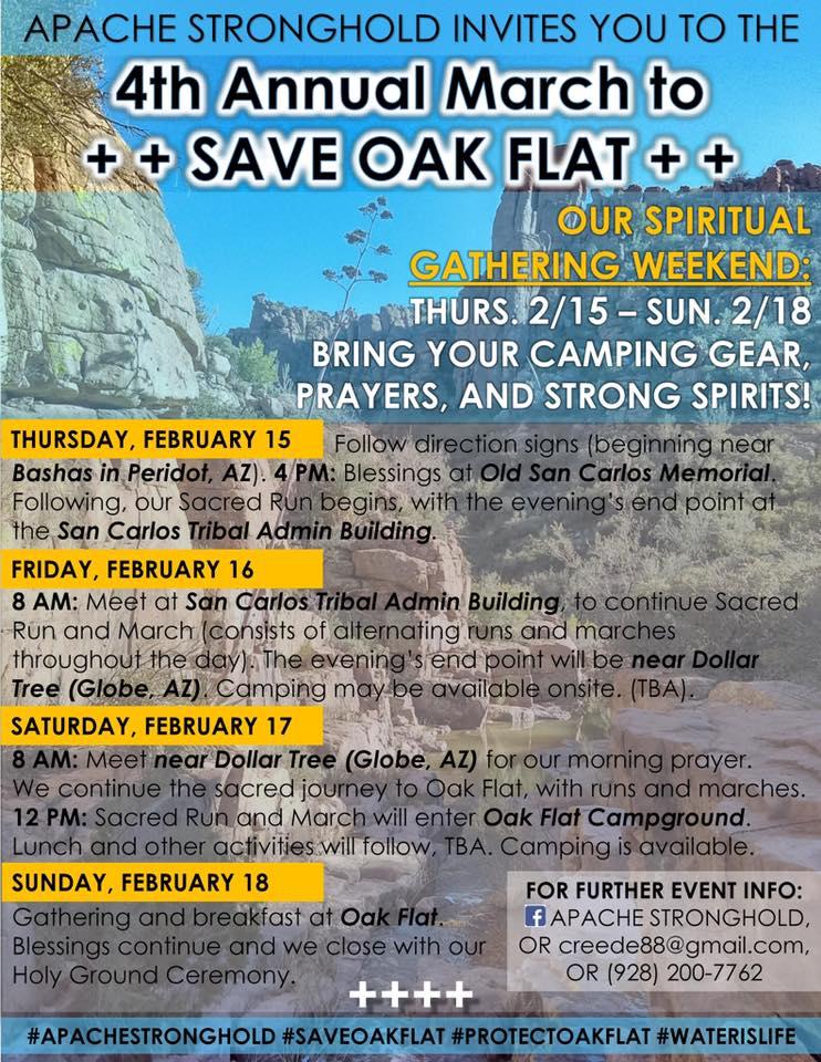 OakFlatSchedule